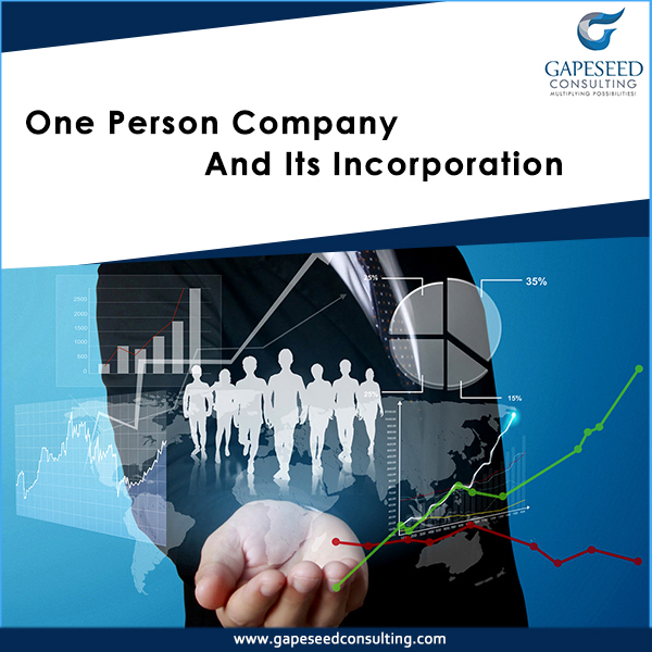 One Person Company and its Incorporation